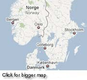Road to Norsk Outdoor or Velfjord Camping & Hytter, Norway